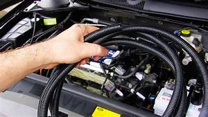 Quick Tip  Fixing Up Engine Bay Wiring  U0026 Cabling