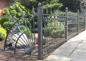 antique wrought iron fence panels margarite gardens