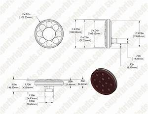 Round Led Truck And Trailer Lights  Turn