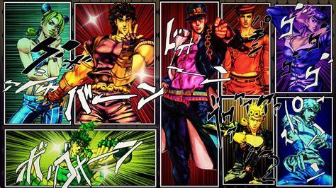 1070 Jojos Bizarre Adventure Hd Wallpapers Background