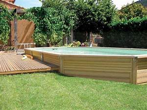 Solde Piscine Hors Sol : piscine hors sol installation aquadouce services ~ Melissatoandfro.com Idées de Décoration