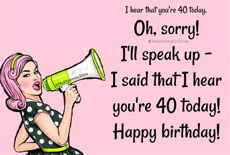 40th birthday sayings & messages congratulations on your 40th birthday. Happy 40th Birthday Funny Images For Him - Funny PNG
