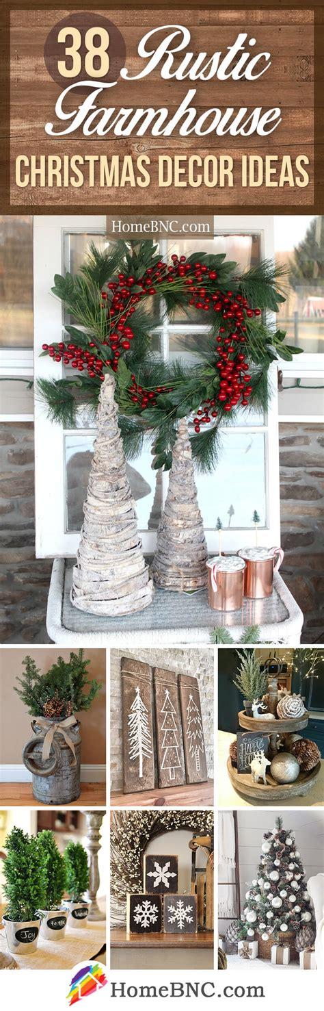Best Rustic Farmhouse Christmas Decor Ideas Designs