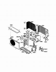 Icp Hmc024kd Room Air Conditioner Parts