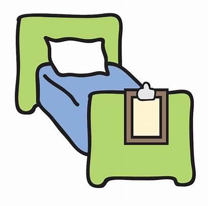 Bed Clipart Hospital Clip Beds Cartoon Microsoft