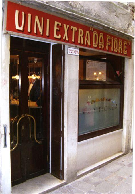 trattoria da fiore venezia ristorante osteria da fiore
