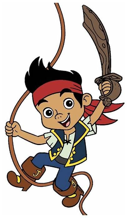 Jake Pirates Neverland Clipart Clip Rope Disney