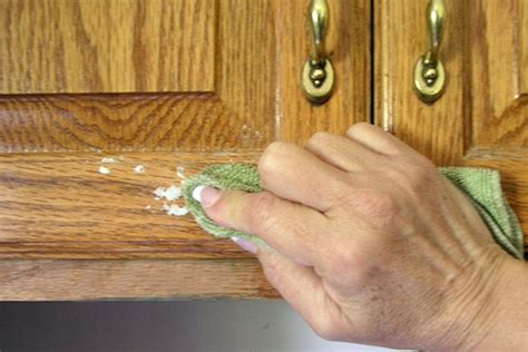 how to clean wood cabinets how to get stubborn grease of kitchen cabinets page