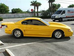 94 Mustang, Drag Car, Prostreet, 10.5 Tire Car, New Build with Trailer for sale - Ford Mustang ...