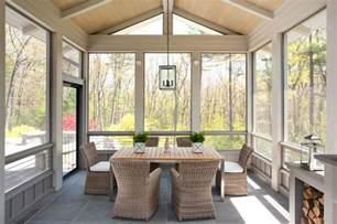 Glass Enclosed Deck by Enclosed Patio Contemporary Deck Patio Liz Caan