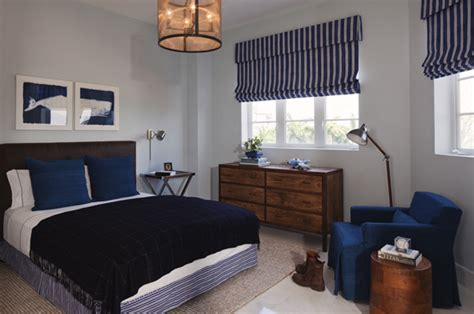 Blue And Brown Boy's Room