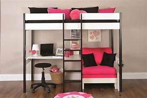 45 bunk bed ideas with desks ultimate home ideas With loft bed with sofa and desk