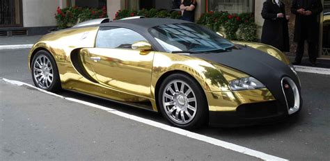 Sports Cars Bugatti Veyron Gold Bierwerxcom