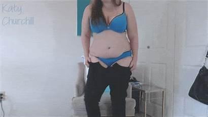 Forced Gain Weight Stripping Masturbation Button Belly