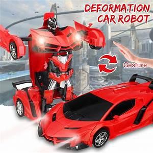 1 18 Remote Control Transformer Gesture Sensing Rc Car