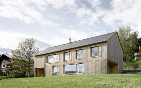 Haus FÜr Julia Und BjÖrn Innauermatt Fassade
