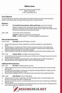 Example Of A Good Resume Format Latest Resume Format 2019 Templates 20 Examples