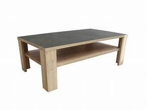 Table Basse Bois Gris : table basse himalaya pieds bois ch ne blanc ceram gris ~ Melissatoandfro.com Idées de Décoration