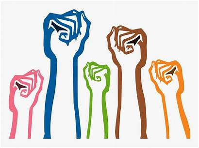 Freedom Clipart Justice Transparent Constraint Social Fist