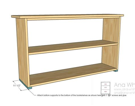 Low Height Bookshelf by Simple Wooden Bookshelf Plans Search Bookshelf