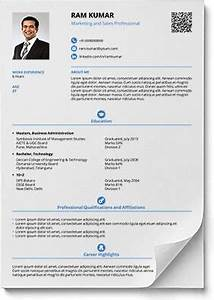 smart and balanced resume template utpal pinterest With smart resume builder cv free