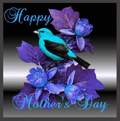 happy mothers day blue text mothers day myniceprofilecom