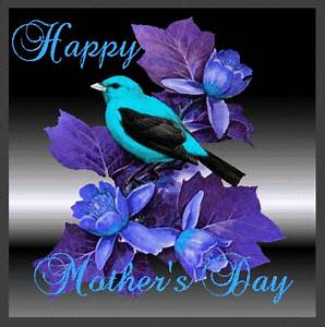 Happy Mothers Day Blue Text Mother 39 S Day