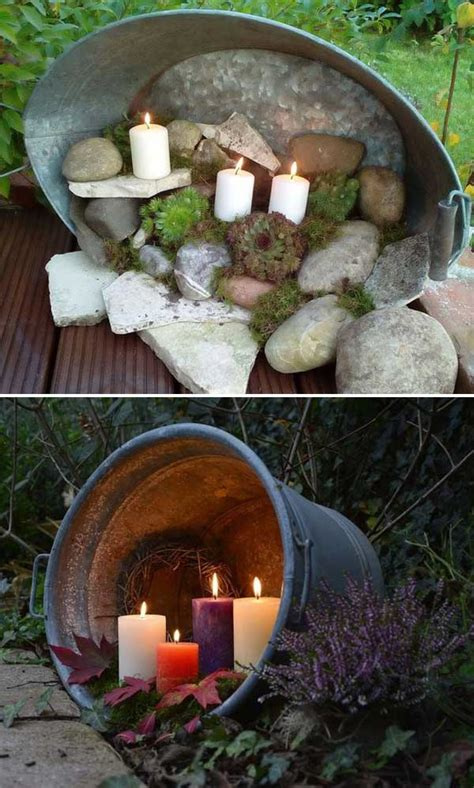 We'll show you 7 different methods so you can pick the one that there are so many ways to get the lights up and we only showed two little ways we've done it. Top 28 Ideas Adding DIY Backyard Lighting for Summer Nights - Gardening Viral