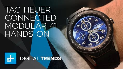Tag Heuer Connected Modular 41 Smartwatch Hands-On - YouTube