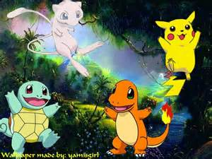 Pokemon Cute Pikachu Desktop Backgrounds