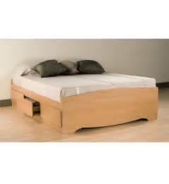queen platform storage bed in beds and headboards