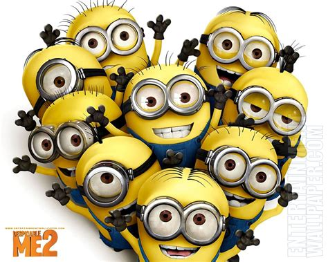 Despicable Me 2 Blu Ray/dvd Date And Details! Minions