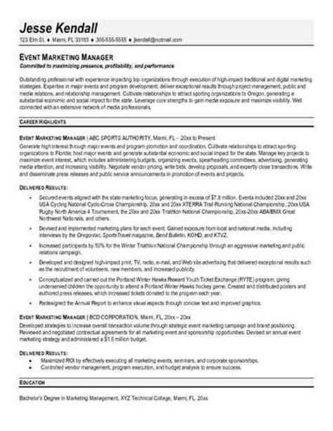 return to work coordinator resume link to an event manager resume
