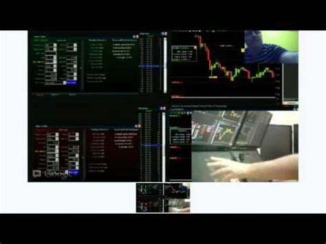 crazy forex trader multi monitor trading station set