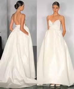 wedding dress with weiwei 39 s wedding dress with pockets