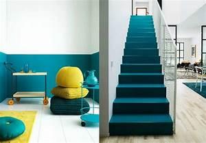 Deco Bleu Canard : d co chambre bleu canard pour un int rieur serein ~ Teatrodelosmanantiales.com Idées de Décoration