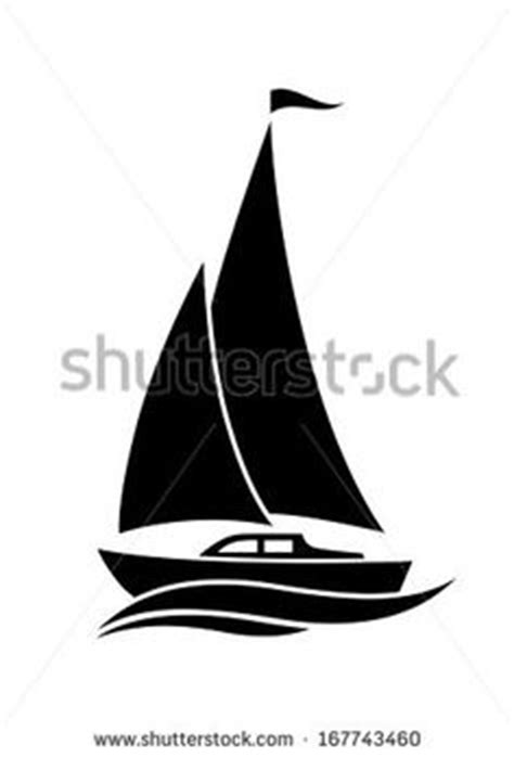 Sailboat Outline Vector Free by Free Vector Chalk Sailboat With Birds Outline Vector