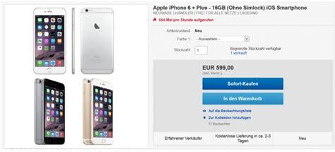 iphone 6 saturn ohne vertrag iphone 6 plus g 252 nstig ohne vertrag 249 90