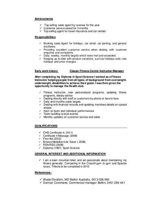 resume sales linkedin