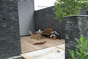 Wand Mit Steinoptik : fassadengestaltung steinoptik haus deko ideen ~ Watch28wear.com Haus und Dekorationen