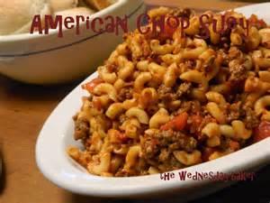 American Chop Suey Casserole