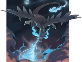 Mega Charizard X Power of a dragon