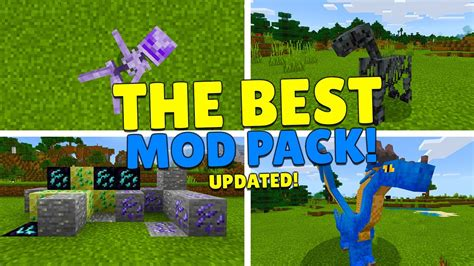 The Best Modpack Has Been Updated Minecraft Pocket Edition