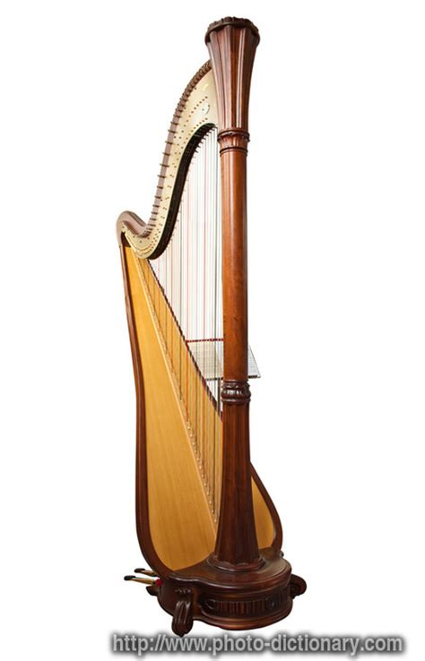 harp photopicture definition  photo dictionary harp word  phrase defined   image