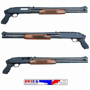 Mossberg 600 AT 12G Pump Action Shotgun - DWSUK