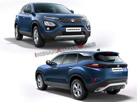 Tata Harrier Imagined In 9 Colours  Iab Rendering