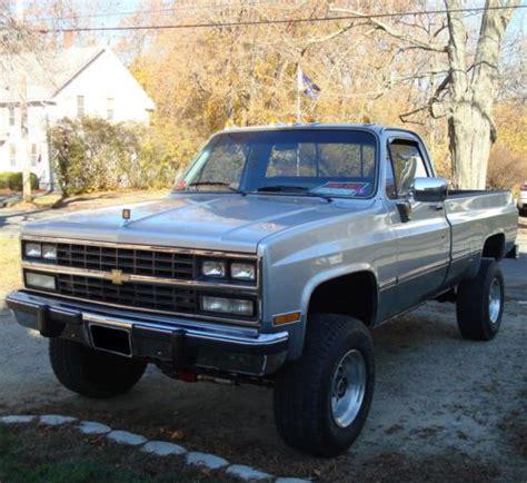 1985 Chevrolet Truck by Buy Used 1985 Silver Chevrolet Chevy Silverado 2500 Hd C