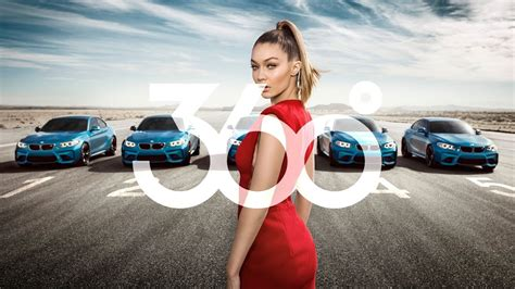 bmw commercial bmw 360 vr commercial ft gigi hadid by 360º viral media