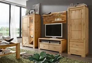 Wohnwand Holz Massiv : massivholz vitrine vitrinenschrank highboardvitrine kiefer ~ Yasmunasinghe.com Haus und Dekorationen