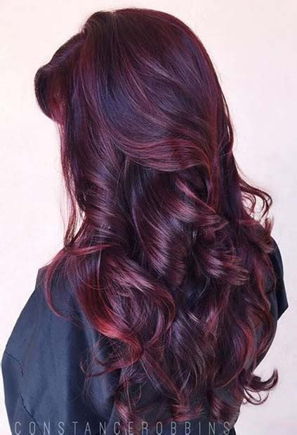 21 Amazing Dark Red Hair Color Ideas Page 2 Of 2 Stayglam